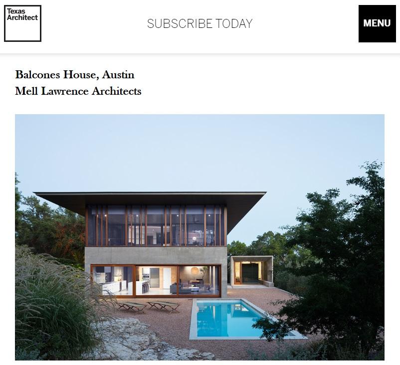 TX architects 2020