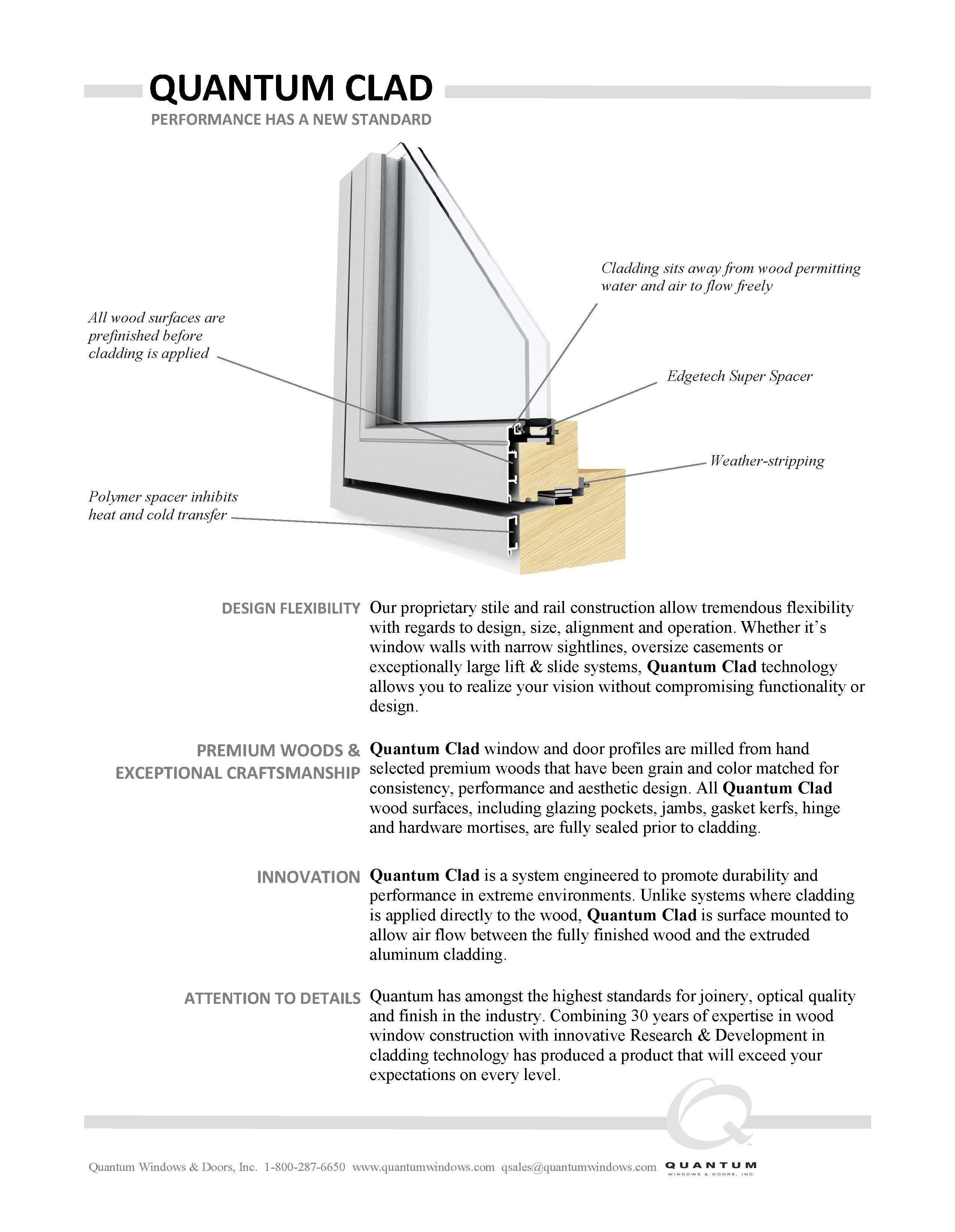 Quantum Clad Brochure Thumbnail